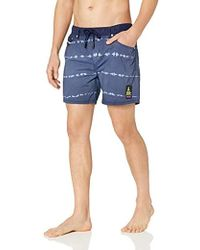 147acd2fc3 DIESEL Denim Look Swim Shorts in Gray for Men - Lyst