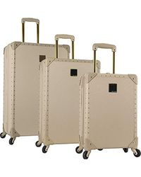 Vince Camuto - 3 Piece Hardside Spinner Luggage Suitcase Set - Lyst