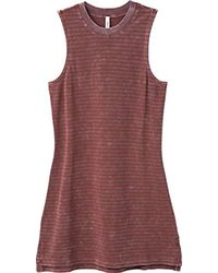 RVCA - Double Down Muscle Tank Dress - Lyst