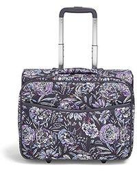 32a4a51c52 Vera Bradley - Iconic Rolling Work Bag - Lyst