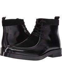Calvin Klein - Rafi Box Leather/calf Suede Boot - Lyst