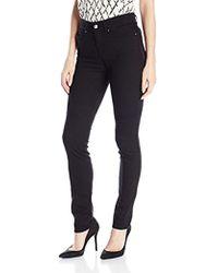 Armani Jeans - Skinny Fit High Rise Stretch Denim - Lyst