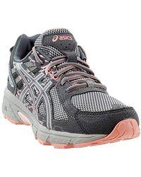 Running 6 Lyst Gel Venture Shoes Gray Asics In qgFzIw4a