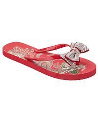 5512f3fef6bbf Lyst - Calvin Klein 205W39Nyc Addie Metallic Sandal in Metallic