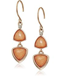 Vera Bradley - Geo Facets Drop Earrings - Lyst