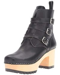 Swedish Hasbeens - Buckle Boot - Lyst
