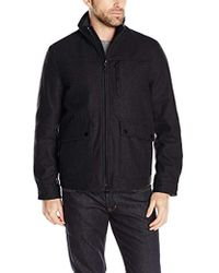 Nautica - Wool Melton Jacket - Lyst
