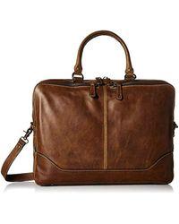 Frye - Logan Zip Work Bag - Lyst