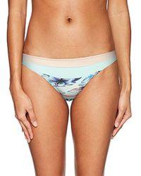 Roxy - Pop Surf Mini Bikini Bottom - Lyst