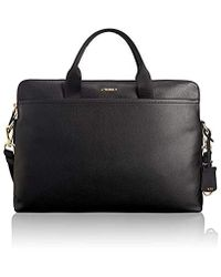 Tumi - Voyageur Joanne- Tina Leather Laptop Carrier Tote - Brief - Lyst