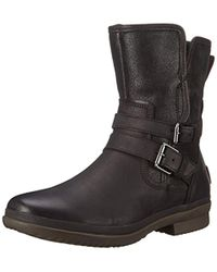UGG - Simmens Leather Boot. - Lyst