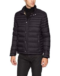 Kenneth Cole Reaction - Packable Down Jacket - Lyst