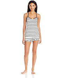 Juicy Couture - Black Label Cami And Tap Short Pajama Set 67e866e88