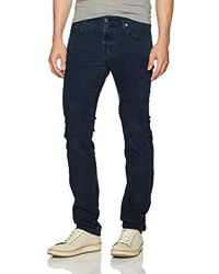 AG Jeans - Matchbox Slim Straight Leg Corduroy - Lyst