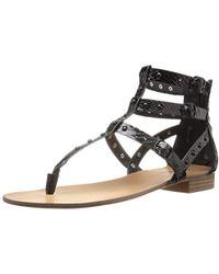 46a0f477d17e Lyst - Kensie Boston Open-toe Platform Sandals in Black