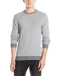 Vince Camuto - Crew Marled Sweater - Lyst