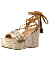 dbecc0cc4232bc Lyst - Tommy Hilfiger Women s Lovelle Geta And Zori Sandal in Brown