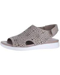 6830d7a6b Lyst - Easy Spirit Posie Flat Sandals