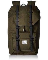 76091d3998b Lyst - Herschel Supply Co. Little America Backpack in Orange for Men