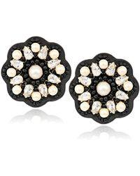 Kate Spade - Desert Garden Button Stud Earrings - Lyst