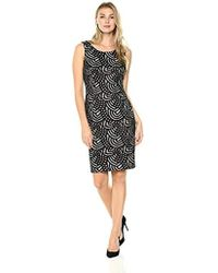 Kasper - Lace Sheath Dress - Lyst