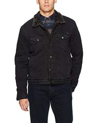 Lucky Brand - Lakewood Denim Sherpa Jacket - Lyst
