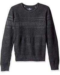 Buffalo David Bitton - Wistone Cable Crewneck Fashion Sweater - Lyst