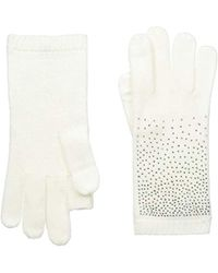 Calvin Klein - Ombre Crystal Studded Gloves - Lyst