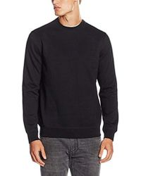 Armani Jeans - Regular Fit Logo Crewneck Sweatshirt - Lyst