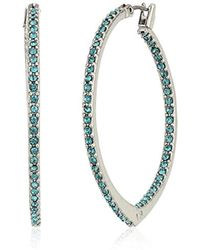 Vera Bradley - S Sparkling Small Hoop Earrings - Lyst