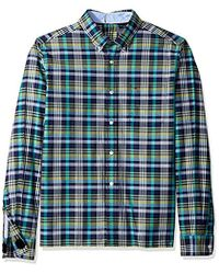 67185b8fd Tommy Hilfiger - Adaptive Seated Fit Magnetic Button Shirt With Touch  Fastener Back - Lyst