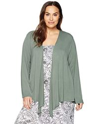 Arabella - Plus Size Open Cardigan - Lyst