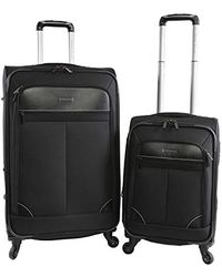Perry Ellis - Tribute Carry On/check In Spinner Luggage Set - Lyst