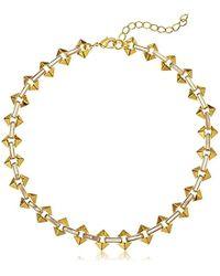 Noir Jewelry - Milky Moon Choker Necklace - Lyst