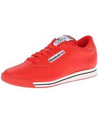 5bd98a5a8ef Lyst - Reebok Princess - Women s Reebok Princess Sneakers