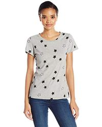 French Connection - Embellished Star Tee - Lyst