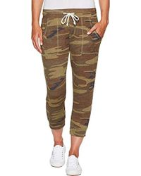 Alternative Apparel - Eco Cropped Eco-jersey Jogger Pants - Lyst