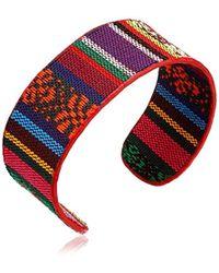 The Sak - Fabric Flex Cuff Bracelet - Lyst