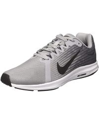 24a6750d9533f Lyst - Nike Revolution 4 (gs) Wolf Grey  Racer Pink-cool Grey in Gray