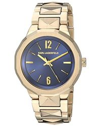 Karl Lagerfeld - Joleigh Quartz Stainless Steel Casual Watch, Color: Gold-tone (model: Kl3407) - Lyst