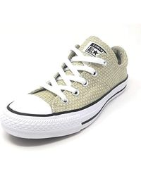 b3b27f4e3c114f Lyst - Converse Chuck Taylor All Star Madison Low Top Sneaker in White