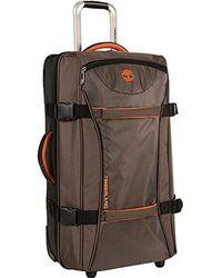 "Timberland - 30"" Wheeled Duffle Luggage Bag - Lyst"