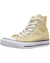 d8c21d8bf5f879 Converse - Chuck Taylor All Star Shiny Tile High Top Sneaker - Lyst