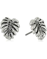 The Sak - Leaf Stud Earrings - Lyst