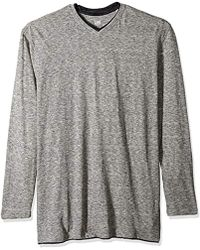 Lee Jeans - Shirt Long Sve Casual V Neck Tipping Regular Big Tall - Lyst