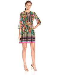 Donna Morgan - Lotus Dress - Lyst