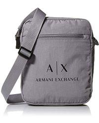 e6d769116708 Lyst - Armani Exchange Rmni Exchnge Lightweight Nylon Ll Over Logo ...