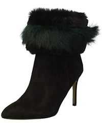 b9a2b454ffeb Lyst - Sam Edelman  pembrooke  Suede Leather Boots in Black