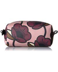 Orla Kiely - Passion Flower Print Textured Vinyl Cosmetic Bag - Lyst