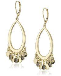Sam Edelman - Shaky Oval Hoop Earrings - Lyst